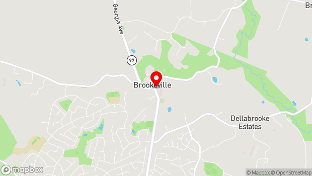 Google Map of 5 High Street, Brookeville, MD 20833