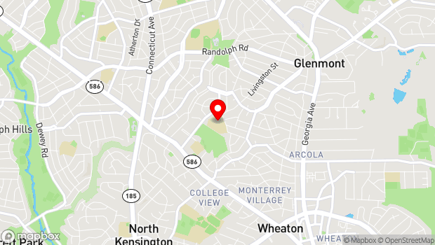 Google Map of 3100 Medway Street, Wheaton, MD 20902