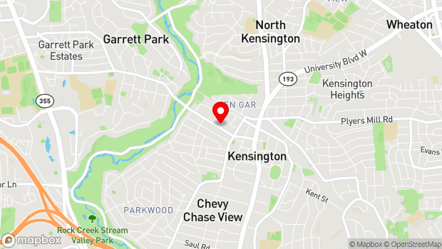 Google Map of 4201 Knowles Ave., Kensington, MD 20895