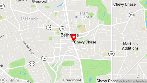 Google Map of 7315 Wisconsin Ave., Bethesda, MD 20814