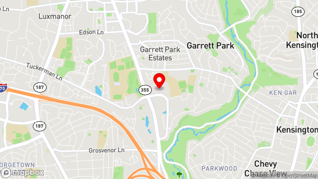 Google Map of 5301 Tuckerman Lane, North Bethesda, MD 20852