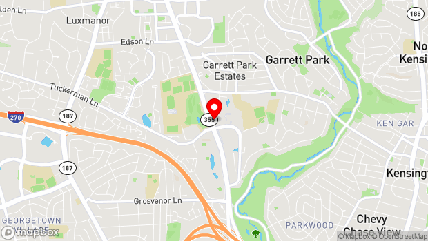 Google Map of 10701 Rockville Pike, North Bethesda, MD 20852
