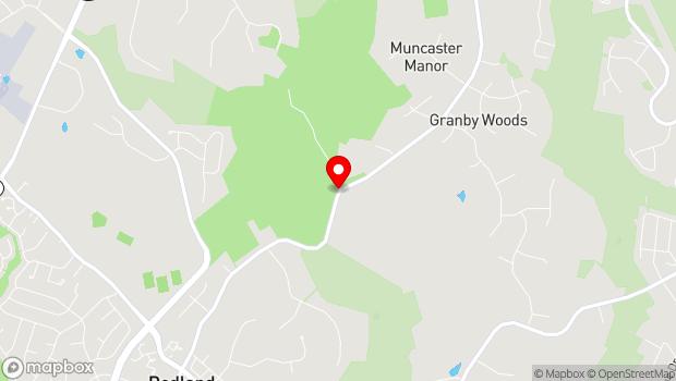 Google Map of 18400 Muncaster Road, Derwood, MD 20855