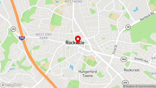 Google Map of 29 Courthouse Square, Rockville, MD 20850
