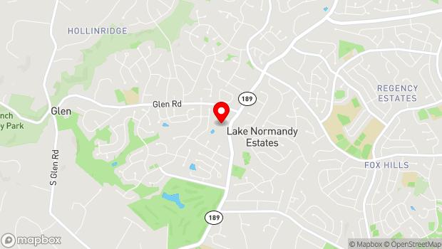 Google Map of 11510 Falls Road, Potomac, MD 20854