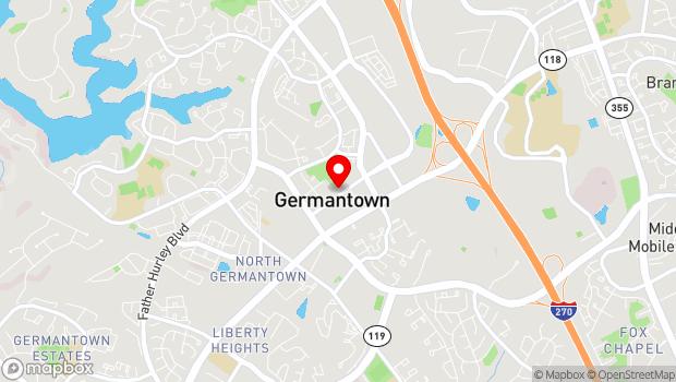 Google Map of 19840 Century Boulevard, Germantown, MD 20874