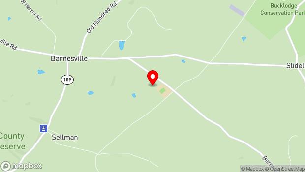 Google Map of 17310 Barnesville Road, Barnesville, MD 20838