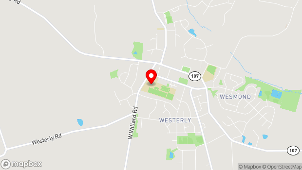 Google Map of 17501 West Willard Rd, Poolesville, MD 20837