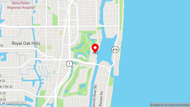 Google Map of 501 E Camino Real, Boca Raton, FL 33432