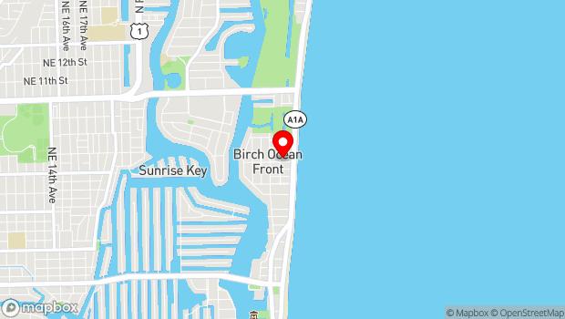 Google Map of 600 Breakers Avenue, Fort Lauderdale, FL 33304