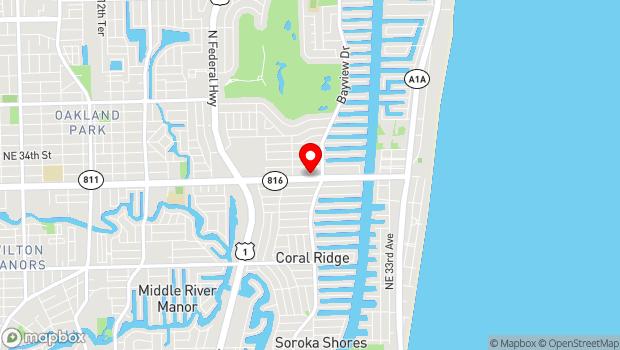Google Map of 2755 E Oakland Park Blvd, Fort Lauderdale, FL 33306