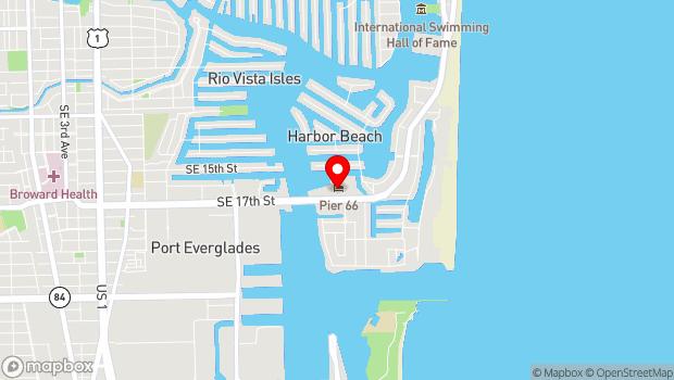 Google Map of 2301 SE 17th Street, Fort Lauderdale, FL 33316