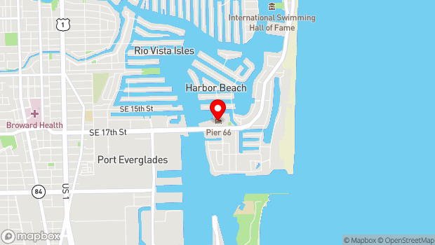 Google Map of 2301 South East 17th Street, Fort Lauderdale, FL 33316