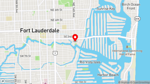 Google Map of 401 Southeast 15th Avenue, Fort Lauderdale, FL 33301