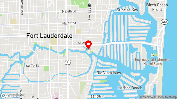 Google Map of 333 Tarpon Drive, Fort Lauderdale, FL 33301