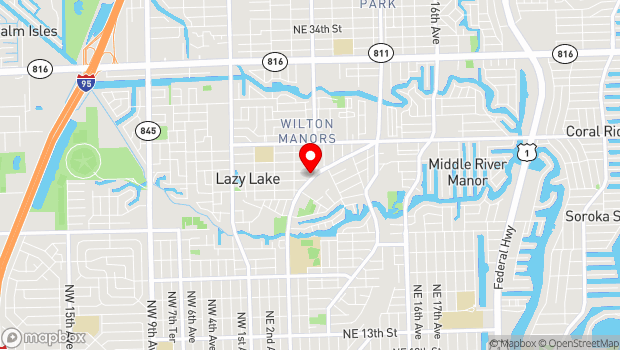 Google Map of 2215 Wilton Drive, Fort Lauderdale, FL 33305
