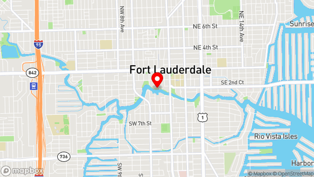 Google Map of 231 SW 2 Avenue, Fort Lauderdale, FL 33301