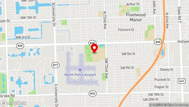 Google Map of 7200 Pines Boulevard, Pembroke Pines, FL 33024