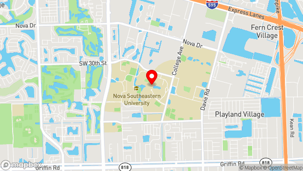 Google Map of 3100 Ray Ferrero Jr Blvd, Fort Lauderdale, FL 33314