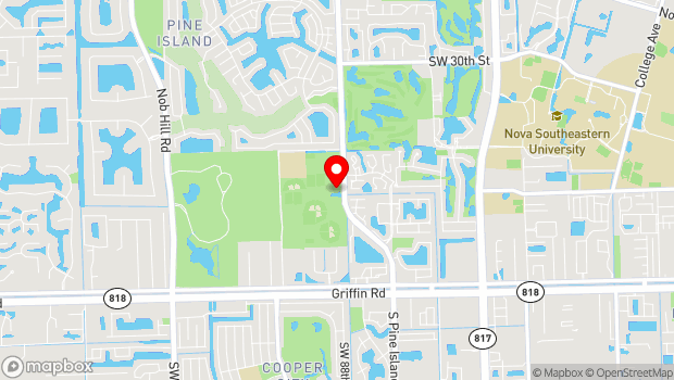 Google Map of 3801 South Pine Island Rd., Davie, FL 33328