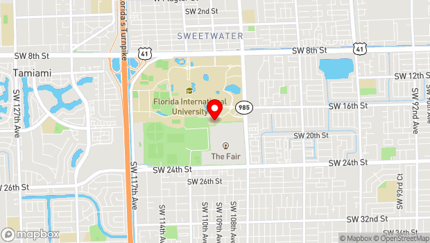 Google Map of 10910 SW 17th St., Miami, FL 33199