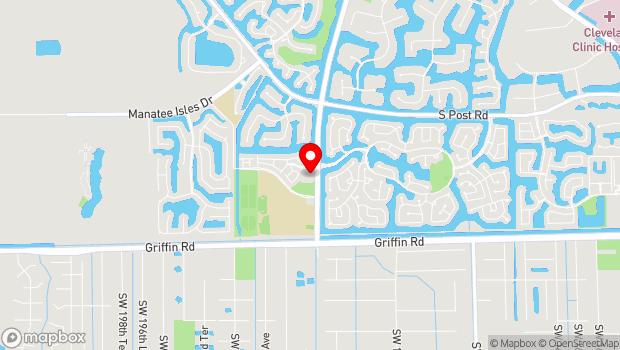 Google Map of 4205 Bonaventure Boulevard, Fort Lauderdale, FL 33301