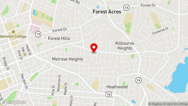 Google Map of 3200 Trenholm Road, Columbia, SC 29204