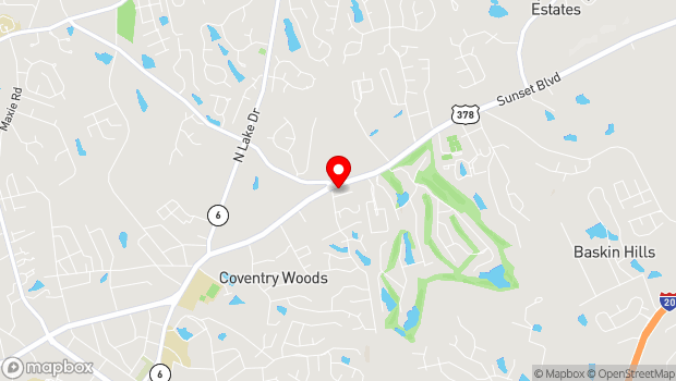 Google Map of 101 Summer Duck Trail - Suite C, Lexington, SC 29072