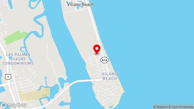 Google Map of 120 Meadow Avenue, St. Augustine, FL 32084