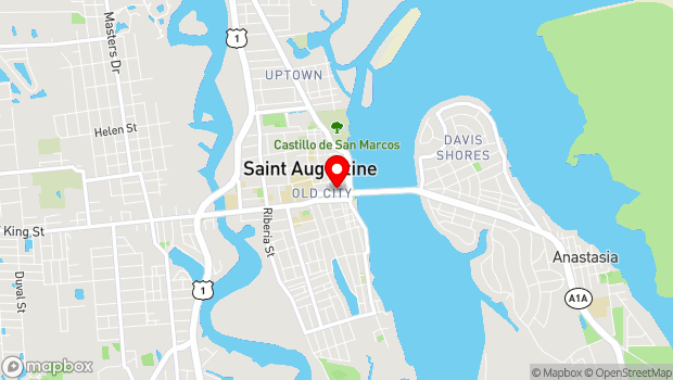 Google Map of 24 Catheral Place #401, St. Augustine, FL 32084