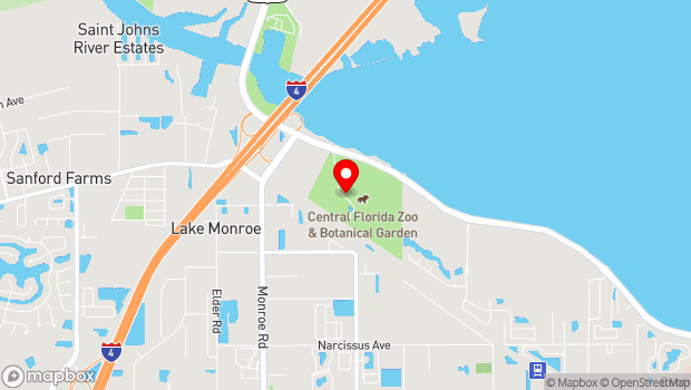 Google Map of 3755 U.S. 17, Sanford, FL 32771