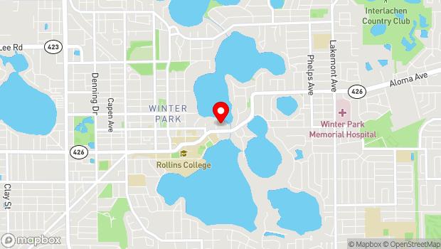 Google Map of 633 Osceola Avenue, Winter Park, FL 32789