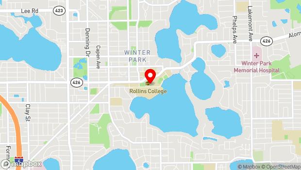 Google Map of 1000 Holt Avenue-2765, Winter Park, FL 32789