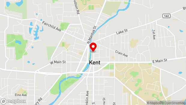 Google Map of 300 N. Water St., Suite H, Kent, OH 44240