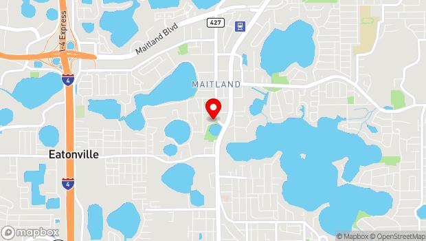 Google Map of 641 S. Maitland Ave., Maitland, FL 32751