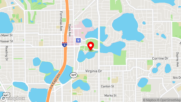 Google Map of 900 East Princeton Street, Orlando, FL 32803