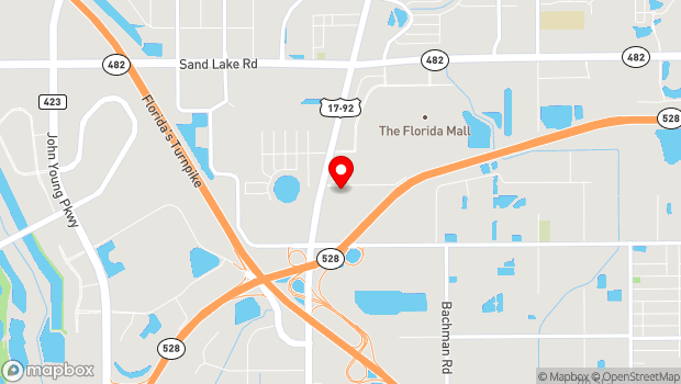 Google Map of 1300 La Quinta Drive, Orlando, FL 32809