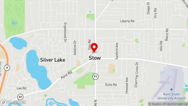 Google Map of 3512 Darrow Road, Stow, OH 44224