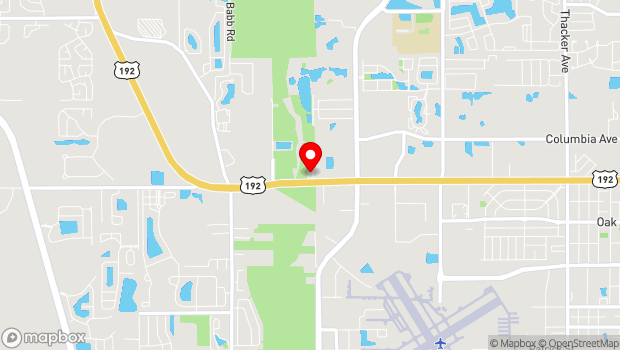 Google Map of 4155 W. Vine Street, Kissimmee, FL 34741
