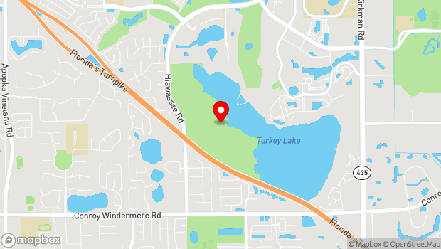 Google Map of 3401 S Hiawassee Rd, Orlando, FL 32835