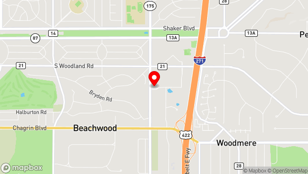 Google Map of Jewish Federation of Cleveland, 25701 Science Park Drive, Beachwood, OH 44122