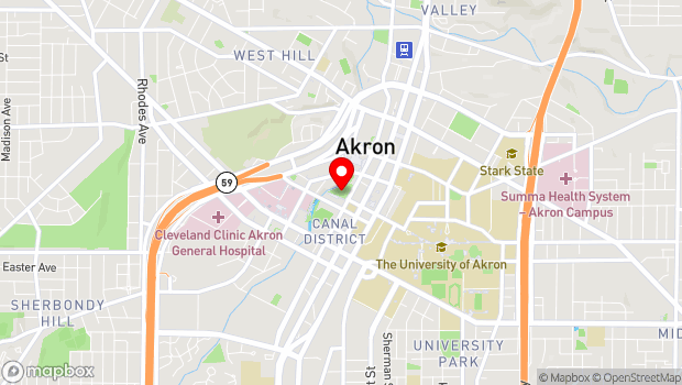 Google Map of Lock 3 Park, Akron, OH 44308