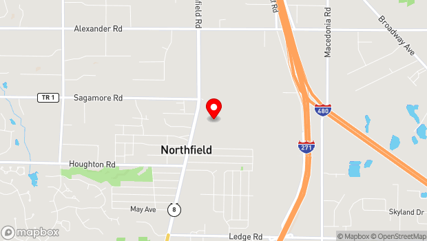 Google Map of 10777 Northfield Road, Northfield, OH 44067