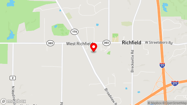 Google Map of 3761 S. Grant St., Richfield, OH 44286