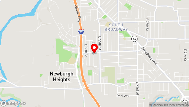 Google Map of 5304 Fleet Ave, Cleveland, OH 44105