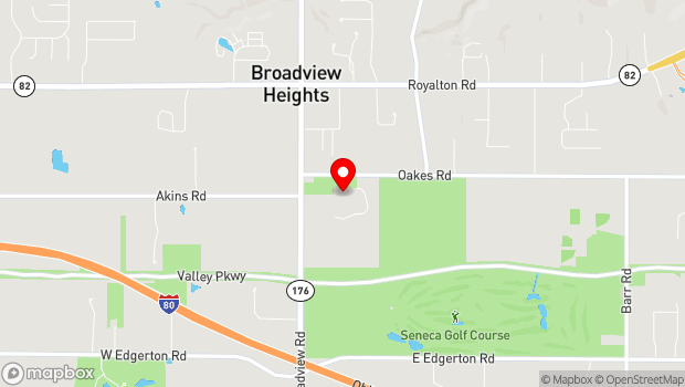 Google Map of 9543 Broadview Road, Broadview Heights, OH 44147