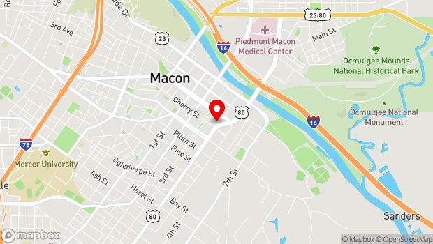 Google Map of 355 Martin Luther King Jr. Blvd., Macon, GA 31208