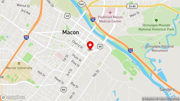 Google Map of 355 Martin Luther King Jr. Blvd., Macon, GA 31208