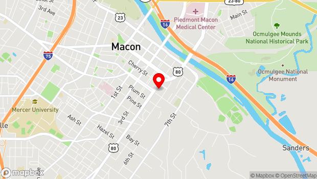Google Map of 450 Martin Luther King, Jr. Blvd., Macon, GA 31201