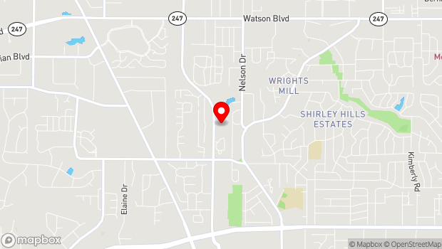 Google Map of 336 Carl Vinson PKWY, Warner Robins, GA 31088